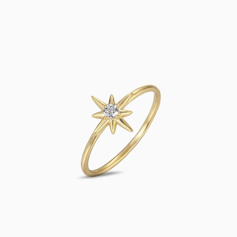 Ring Star Gold