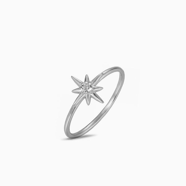 Ring Star Silver