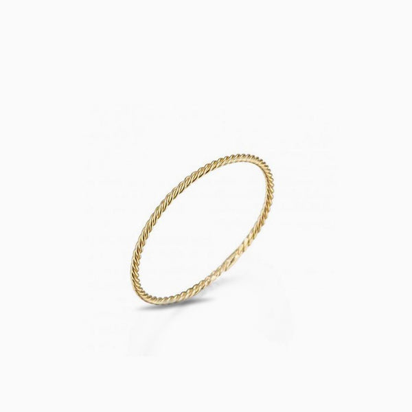Braid Gold Ring