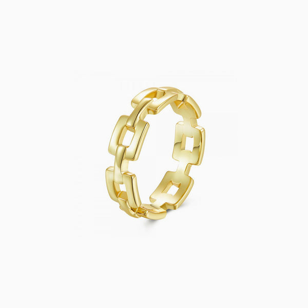 Chain Gold Ring