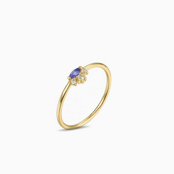 Ring Topaz Gold