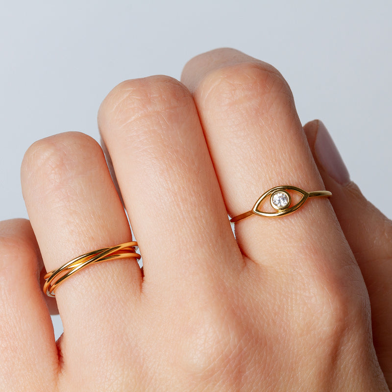 Maia Gold Ring