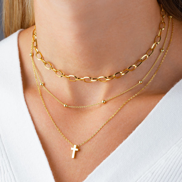 Pendant Cross Gold