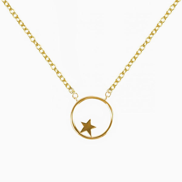 Star Gold Pendant