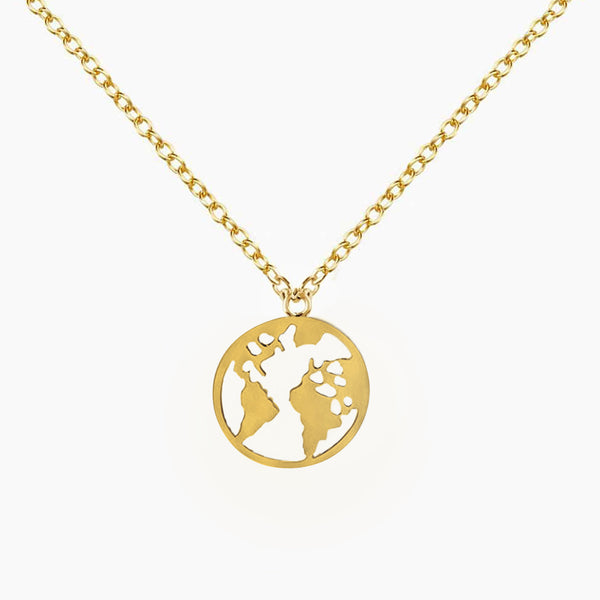 Pendant World Gold