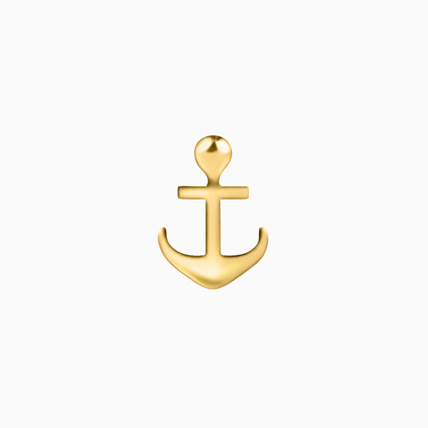 Gold Anchor Piercing