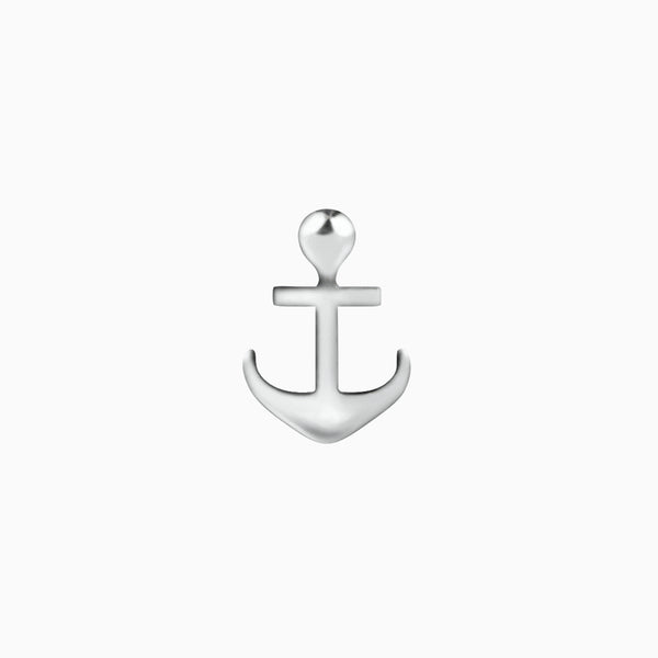 Anchor Piercing Silver