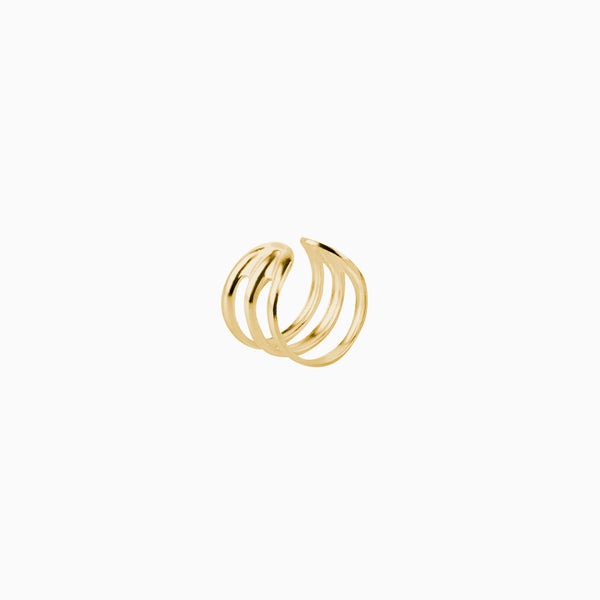 Ear Cuff Hoop Gold