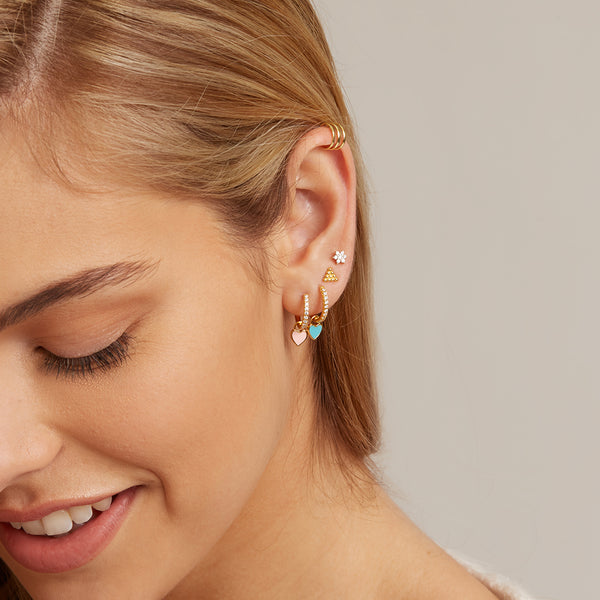 Hoop Gold Ear Cuff