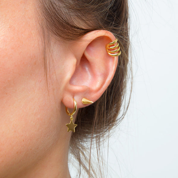 Mini Punk Gold Piercing