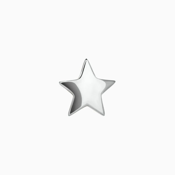 Mini Star Piercing Silver