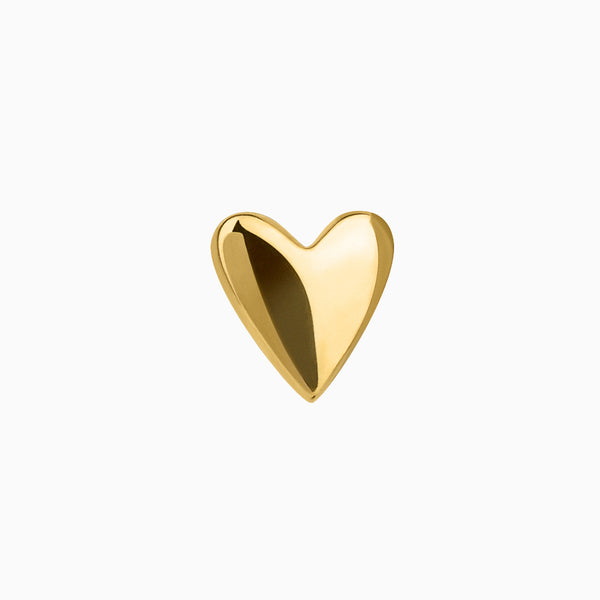 Mini Heart Piercing Gold