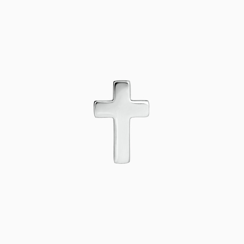Mini Cross Silver Piercing