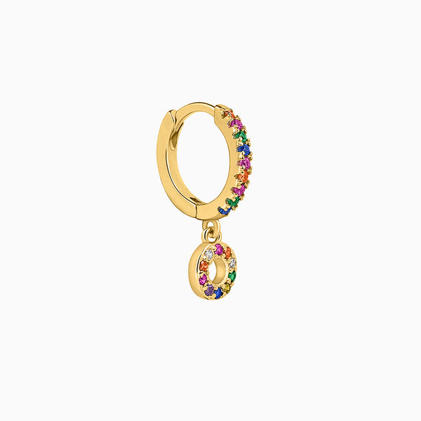 Orbite Hoop Piercing Gold