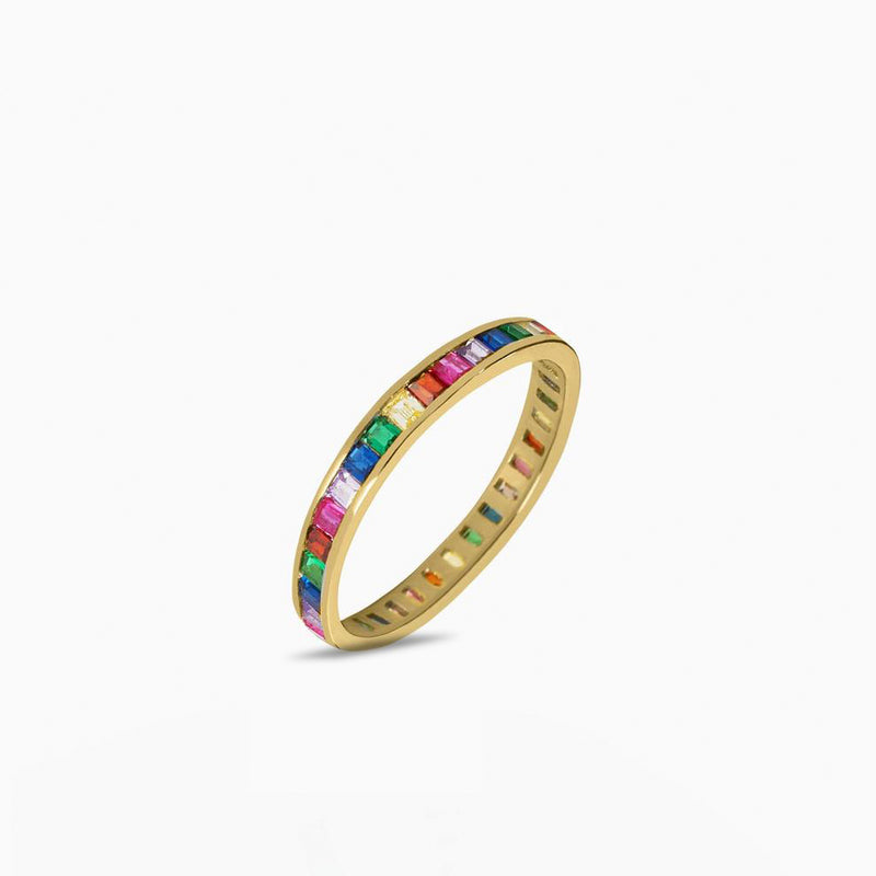 Palette Gold Ring