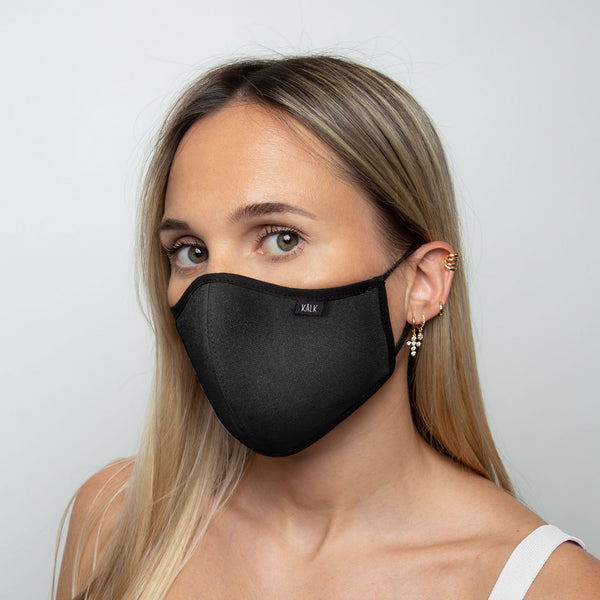 Mask Black Kalk