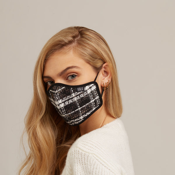Kalk Mask Tweed Gold