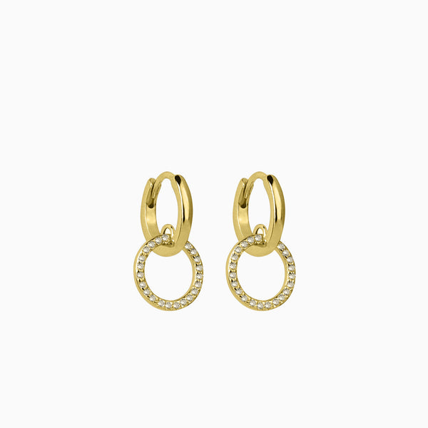 Alleanza Hoop Earrings Gold