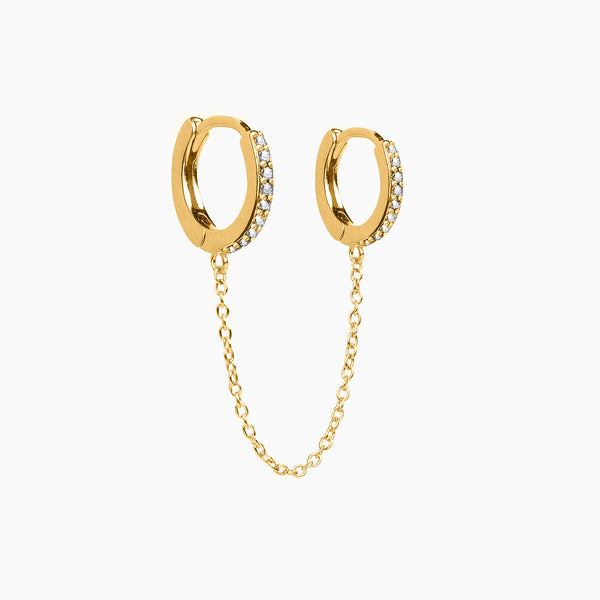 Unito Hoop Piercing Gold