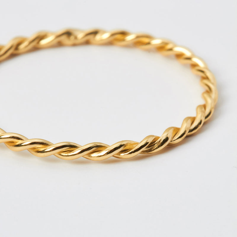 Ring Curly Gold