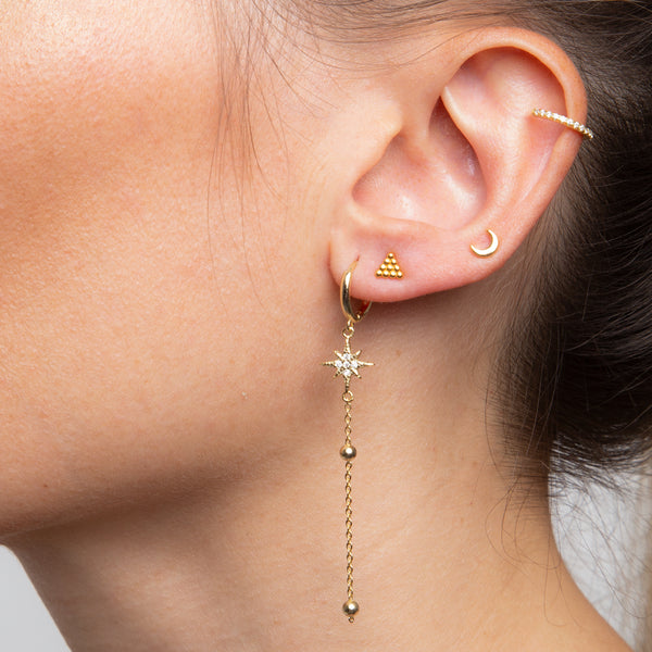 Orion Piercing Gold