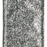 Caspari Silver Glitter Wired Ribbon - 9 Yard Spool