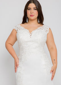 harper v neck top harper skirt wedding dress