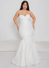 Load image into Gallery viewer, farai top aria skirt strapless satin sweetheart wedding dress