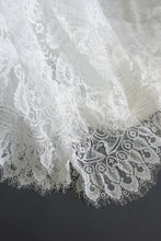 Load image into Gallery viewer, kylar top kylar skirt lace off the shoulder wedding dress
