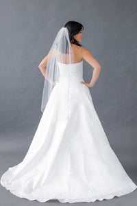 farai top adley skirt strapless satin sweetheart wedding dress