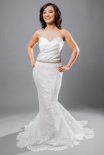 Load image into Gallery viewer, piazza top kylar skirt strapless sweetheart wedding dress