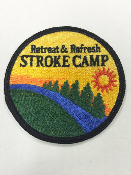 Stroke Camp Patch