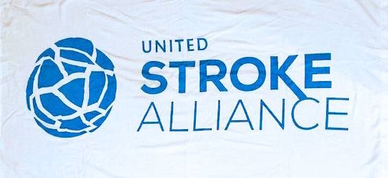 United Stroke Alliance Beach Towel