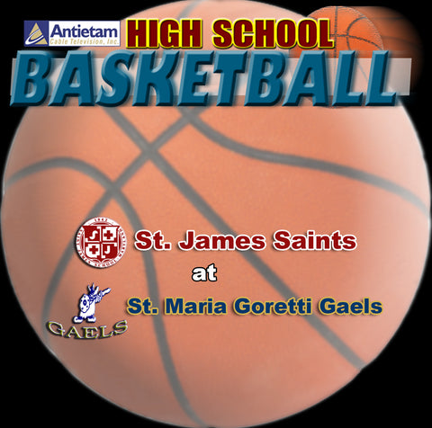2014 High School Basketball-St. James at St. Maria Goretti (Boys)