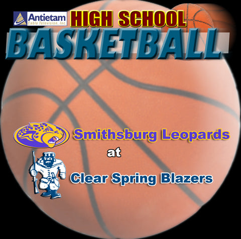 2013 High School Basketball-Smithsburg at Clear Spring (Boys)
