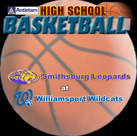 2014 High School Basketball-Smithsburg at Williamsport (Boys)