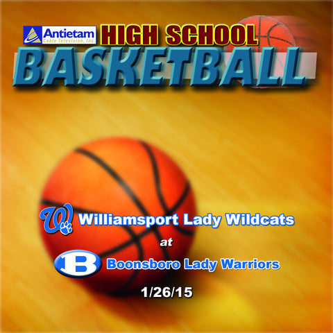 2015 High School Basketball-Williamsport at Boonsboro (Girls)