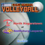 High School Volleyball- North High at Smithsburg (2017) BLU-RAY