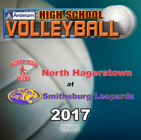 High School Volleyball- North at Smithsburg (2017) DVD