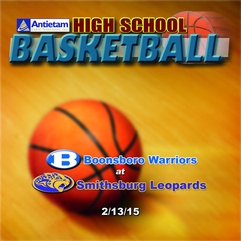 2015 High School Basketball-Boonsboro at Smithsburg (Boys)