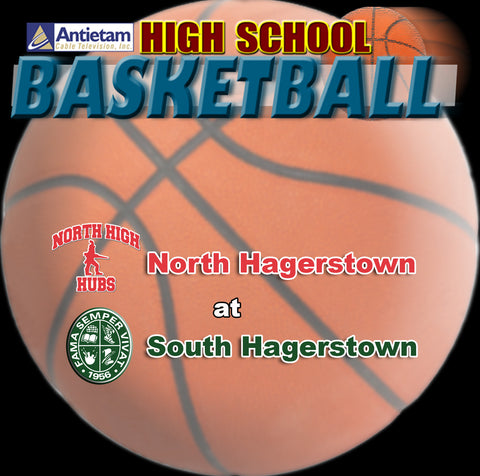 2014 High School Basketball-North Hagerstown at South Hagerstown (Boys)