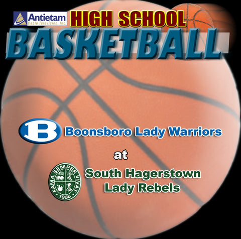 2014 High School Basketball-Boonsboro at South Hagerstown (Girls)