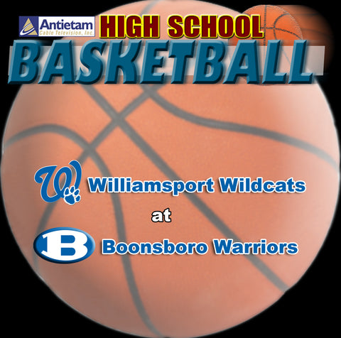 2013 High School Basketball-Williamsport at Boonsboro (Girls)