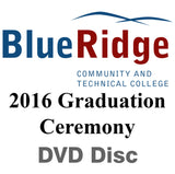 Blue Ridge Community & Technical College 2016 Graduation DVD