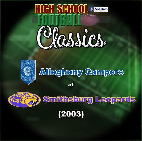 2008 High School Football-Alleghany at Smithsburg