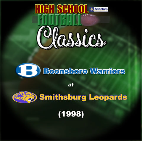 1998 High School Football-Boonsboro at Smithsburg