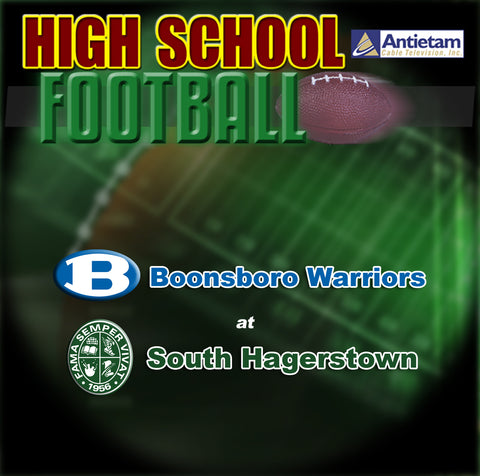 2011 High School Football-Boonsboro at South Hagerstown