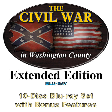 The Civil War in Washington County Extended Edition Blu-ray