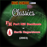 2003 High School Football-Fort Hill vs. North Hagerstown