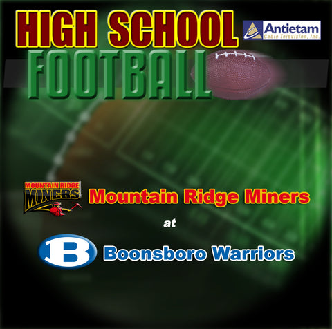2010 High School Football-Mountain Ridge at Boonsboro
